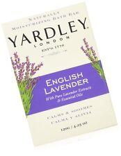 Yardley London English Lavender with Essential Oils Soap Bar, 4.25 oz Bar (Pa.