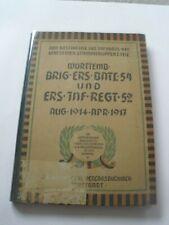 Regimentsgeschichte Regimental History - Wurt Inf Regiment 479 (54 Bde 52 Ers)