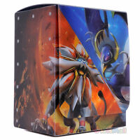 Pokémon Trading Card Game TCG Sun Moon SM1 Solgaleo & Lunala Deck Box Flip Case