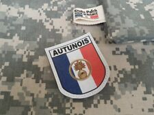 """Snake Patch - FRANCE OPEX """" AUTUNOIS """" Autun - Armée INTERARME - ECOLE MILITAIRE"""