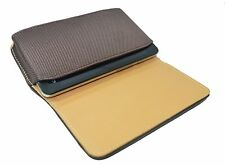 Leather Belt Pouch Magnetic Flip Cover For Spice Stellar 518 Brown