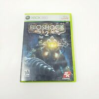 BioShock 2 (Microsoft Xbox 360, 2010) Used, Complete Tested Working Genuine