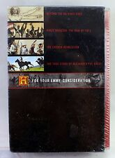 NEW - The History Channel: For Your Emmy Consideration (DVD, 2005) 8-Disc Box