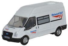BNIB N GAUGE OXFORD DIECAST 1:148 NFT005 FORD TRANSIT VAN NETWORK RAIL
