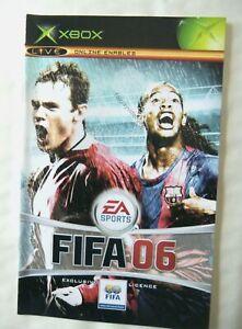 59422 Instruction Booklet - FIFA 06 - Microsoft Xbox (2005)