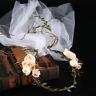 Boho Flower Garland Hair Band Festival Beach Party Wedding Headband Crown Tiaras
