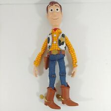 Toy Story Woody Thinkway Signature Collection Talking Doll WORKS no hat/stand
