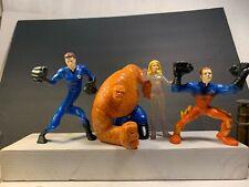 Burger King Toys 2007 Fantastic Four &  USED