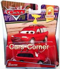 DISNEY Pixar Cars 2 KIT revster della Piston Cup Fan dalla spiaggia-Mattel NUOVO & OVP