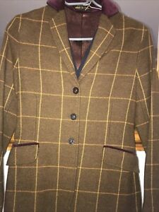 """Pretty Ponies Tweed Checked Riding Jacket Size 32"""""""