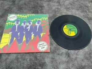 "1980 THE RESIDENTS Diskomo/Goosebump 12""VINYL EP record  Ralph 1st press VG/NM"