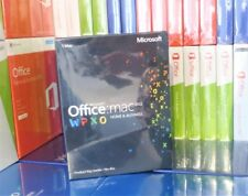 NEW & SEALED MICROSOFT OFFICE 2011 HOME & BUSINESS MAC W6F-00202 100% GENUINE