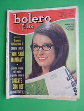 BOLERO 873 26/01/1964 Andreina Pezzi Carrol Baker Jean Harlow Sofia Loren Sophia