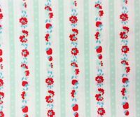 RPG465 Floral French Shabby Country Garden English Roses Cotton Quilt Fabric