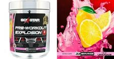Six Star Explosion Pre Workout, Powerful Workout Powder Pink Lemonade