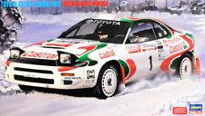 Toyota Celica Turbo 4WD 1993 RAC Rally Winner 1:24 Model Kit Hasegawa 20358