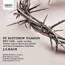 Yorkshire Baroque Soloists - JS Bach St Matthew Passion BWV 244b [CD]