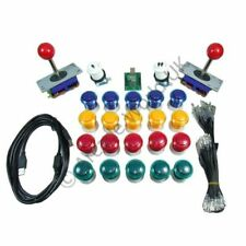 20 x Arcade Buttons & 2 x Joysticks & Arcade Controller Kit No10