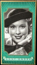 1937 German film Actress Lloyd Cigarette Card ANNY ONDRA wife of Max Schmeling