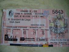 TICKET STANDARD - KAA GENT  COUPE DE BELGIQUE  8/2/2006