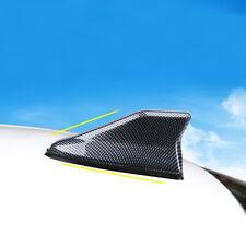 Carbon Fiber Universal Auto Car Shark Fin Roof Antenna Radio AM/FM Signal Aerial