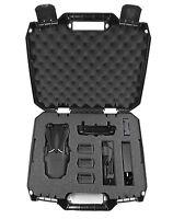 DRONESAFE DJI Mavic Pro Tough Mini Drone Carry Case- Fits Remote, Batteries More
