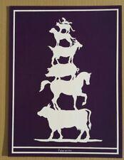 MARK DION  Originalserigrafie handsigniert, Griffelkunst Palaearctic