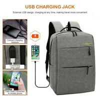 3PCS/Set USB Charging Oxford Cloth Backpack Large Capacity Messenger Bag Handbag