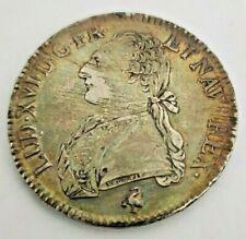 Écu aux branches d'olivier Argent Louis XVI 1790 A PARIS
