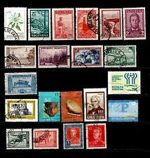 Used Postage Argentine Stamps