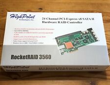 HighPoint RocketRaid 3560 24-Channel PCIe x8 SATA Hardware Raid Controller
