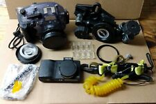 SEA & SEA DX-2G UNDERWATER DIGITAL CAMERA WITH CHARGER
