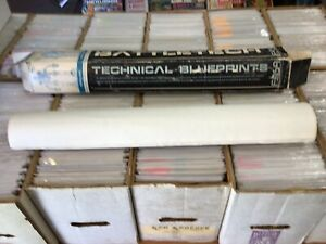 "Lot of 5 FASA Battletech Technical Blueprints 36"" x 24"" With Tube Stock #1615"