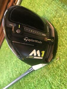TaylorMade Golf Club M1 460 2017 10.5* Driver Regular Graphite Adjust Head Cover