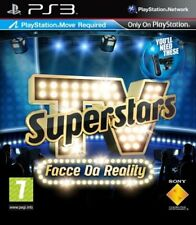 Sony Ps3 - TV SUPERSTARS facce da Reality (software per Playstation Move)