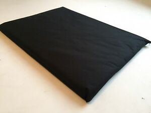 XLARGE STRONG 100%WATERPROOF BLACK DOG PETMAT WASHABLE 5FTx3.5FT REMOVABLE COVER