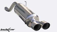 Terminale Scarico INOXCAR Alfa Romeo MITO 1.4 T Jet (120cv) 2009 D ATTACCO 50mm