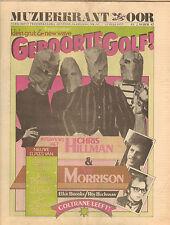 MAGAZINE OOR 1977 nr. 14 - ROY BUCHANAN / VAN MORRISON / GENESIS / CHRIS HILLMAN