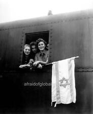 Photo Buchenwald Concentration Camp Children Leaving