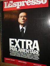 L'Espresso.Silvio Berlusconi,Stéphane Lissner,Giuseppe Battiston,Jean-Paul Agon