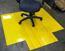 CHAIR MATS / WOODEN / CLEAR NATURAL BAMBOO $99 - INCLUDES GST AND OZWIDE POSTAGE