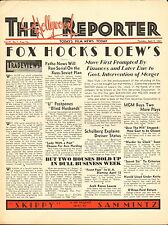 APRIL 9 1931 THE HOLLYWOOD REPORTER movie magazine - FOX HOCKS LOEW'S
