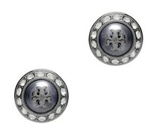Tory Burch Natalie Metallic Stud Earrings, NWT, MSRP: $88