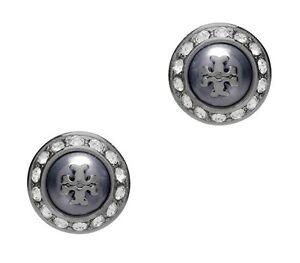 Tory Burch Natalie Metallic Stud Earrings, NWT, MSRP: $88