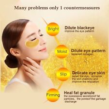 Gold Crystal Collagen Eye Mask Eye Patches Face Care Dark Circles Remove Ageless