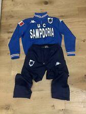 Tuta Tracksuit Sampdoria Kappa Team Edition Size S