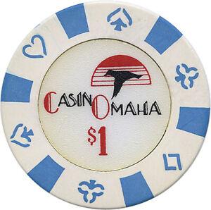 $1.00 Casino Chip -  Casino Omaha Casino - Onawa, Iowa (Obsolete)