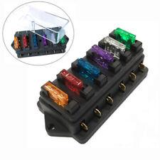 12V/24V KFZ Auto Boot Sicherungshalter Sicherungsdose Sicherungskasten 6-fach DE
