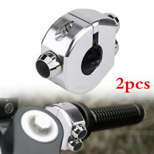 "2pc 25mm 1""CNC Momentary Switch CNC Switch Motorcycle Cafe Race Reset Buttons"