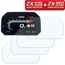 4 X BMW R1200GS' 17 > protector de pantalla TFT de conectividad: 2x transparente y 2x antideslumbrante
